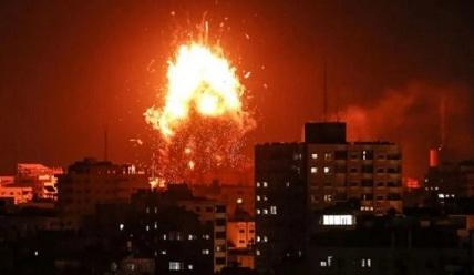 gaza-dibombardir
